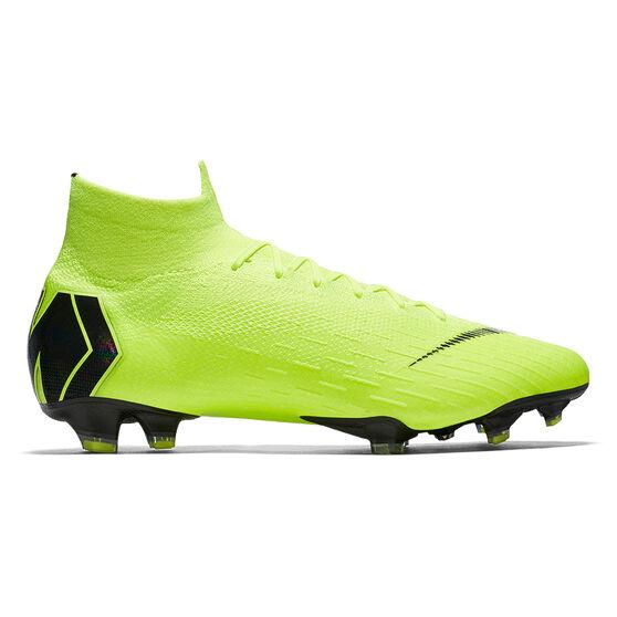 new styles 2f849 8c42b Nike Mercurial Superfly VI Elite Mens Football Boots Volt / Black US 11