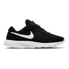 Nike Tanjun Kids Casual Shoes Black / White 11, Black / White, rebel_hi-res