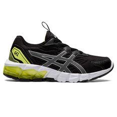 Asics GEL Quantum 90 2 Kids Casual Shoes Black/Silver US 11, Black/Silver, rebel_hi-res