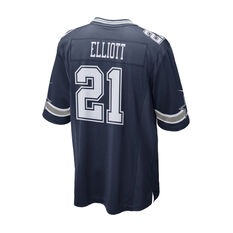 Dallas Cowboys Ezekiel Elliott Mens Jersey Navy S, Navy, rebel_hi-res