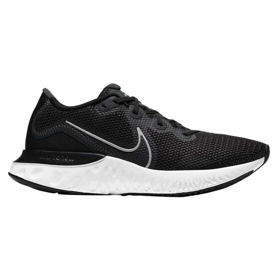 Nike Renew Run Mens Running Shoes, Black/Silver, rebel_hi-res