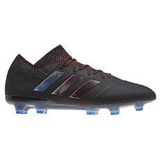 adidas Nemeziz 18.1 Mens Football Boots Black US 7, Black, rebel_hi-res