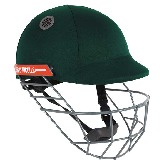 Gray Nicolls Atomic Cricket Helmet, Green, rebel_hi-res