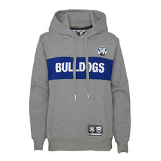 Canterbury Canterbury-Bankstown Bulldogs 2021 Womens Hoodie, Grey, rebel_hi-res