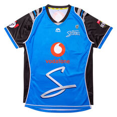 Adelaide Strikers 2019 Mens Jersey Blue S, Blue, rebel_hi-res