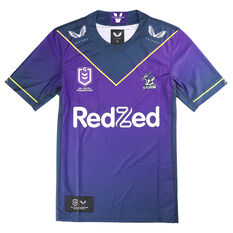 Melbourne Storm 2021 Kids Home Jersey Purple S, Purple, rebel_hi-res