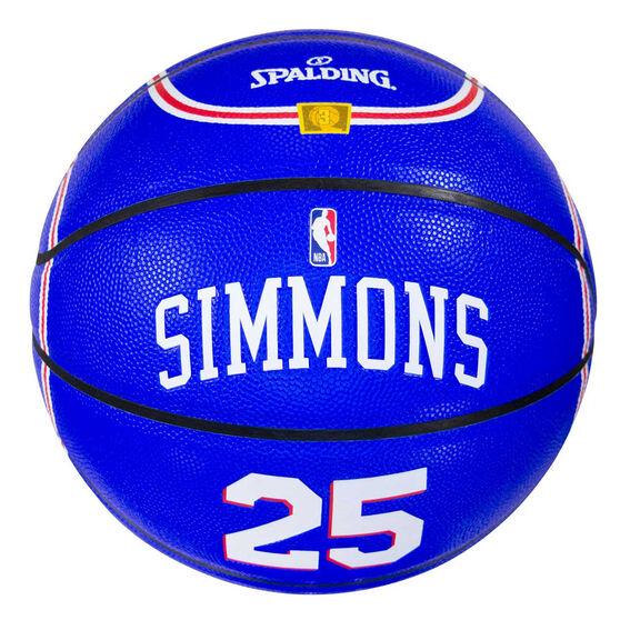 Spalding NBA Jersey Ben Simmons Basketball, , rebel_hi-res