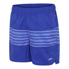Speedo Boys Classic Panel Watershort Blue M, Blue, rebel_hi-res