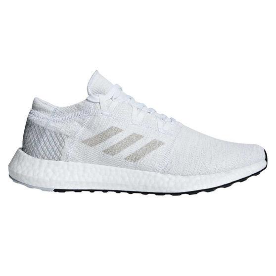 494bb5e1fd adidas Pureboost GO Mens Running Shoes White / Grey US 10.5