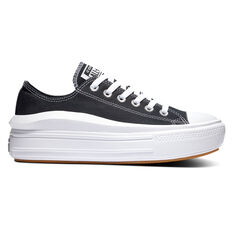 Converse Chuck Taylor All Star Move Platform Womens Casual Shoes Black/White US 5, Black/White, rebel_hi-res