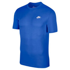 Nike Mens Sportswear Club Tee Blue XS, Blue, rebel_hi-res