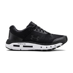 Under Armour HOVR Infinite Womens Running Shoes Black / White US 6, Black / White, rebel_hi-res