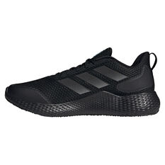 adidas Edge Gameday Mens Running Shoes Black US 7, Black, rebel_hi-res