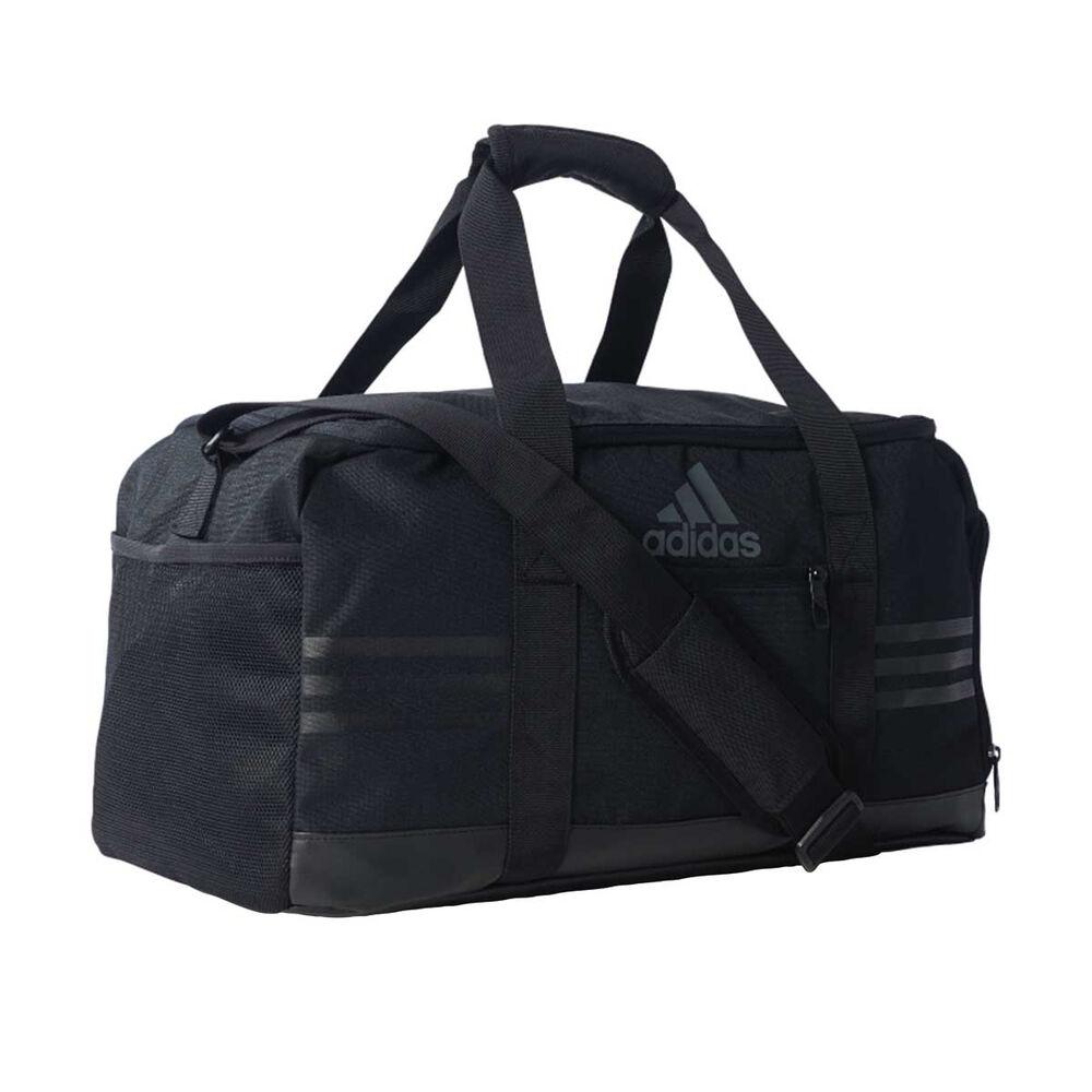 0674c21308 adidas 3 Stripe Small Team Bag Black