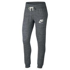 Nike Womens Sportswear Vintage Pants Grey / White XS Adult, Grey / White, rebel_hi-res