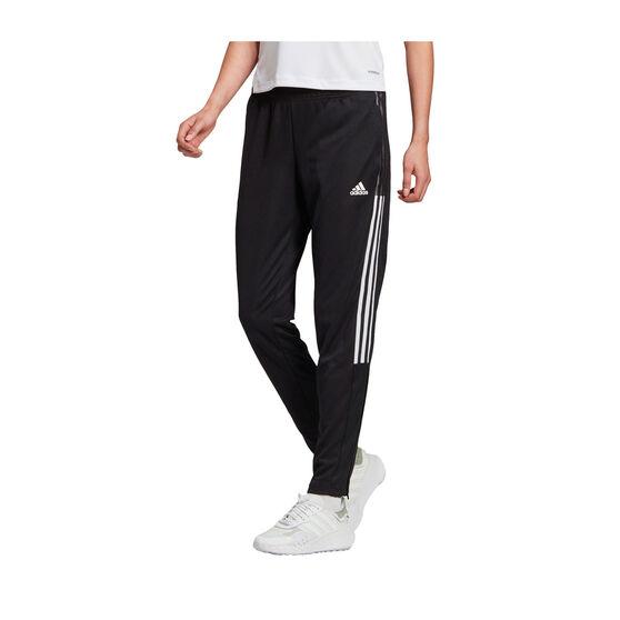 adidas Womens Tiro 21 Track Pants Black S, Black, rebel_hi-res