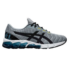 Asics GEL Quantum 180 5 Mens Training Shoes Grey/Black US 7, Grey/Black, rebel_hi-res
