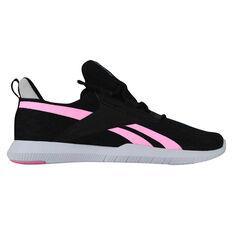 Reebok Reago Pulse 2.0 Womens Training Shoes Black/Pink US 6.5, Black/Pink, rebel_hi-res