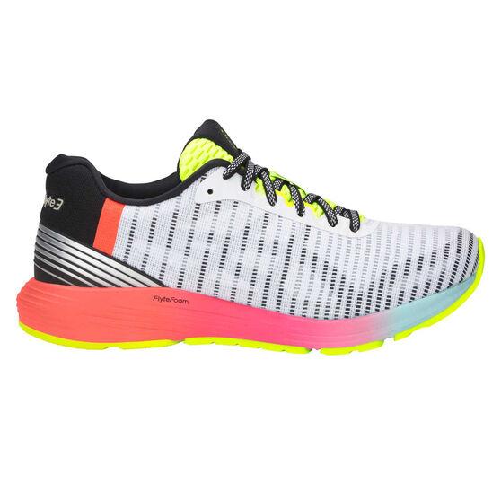 Asics Dynaflyte 3 Womens Running Shoes, White / Black, rebel_hi-res
