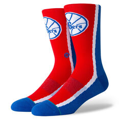 Stance Philadelphia 76ers HWC Warmup Socks Red, Red, rebel_hi-res