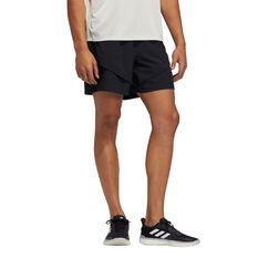 adidas Mens Studio Tech Shorts Black S, Black, rebel_hi-res