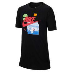 Nike Boys Future Fast Air Tee Black XS, Black, rebel_hi-res