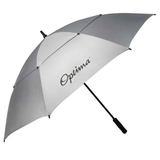 Optima Double Canopy Solar Golf Umbrella White / Grey 64in, , rebel_hi-res