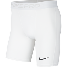 Nike Mens Pro Shorts White / Black S, White / Black, rebel_hi-res