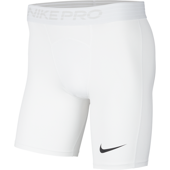 Nike Mens Pro Shorts, White / Black, rebel_hi-res
