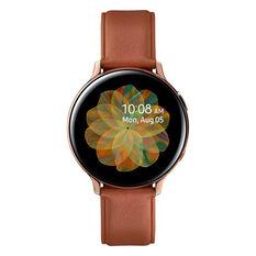 Samsung Galaxy Watch Active2 LTE 44mm Stainless Steel Smartwatch, , rebel_hi-res