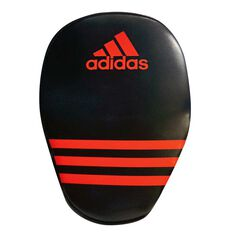 adidas Elite Focus Boxing Mitt Black / Red, , rebel_hi-res