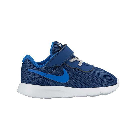 236132e389091 Nike Tanjun Toddlers Running Shoes Navy   black US 3
