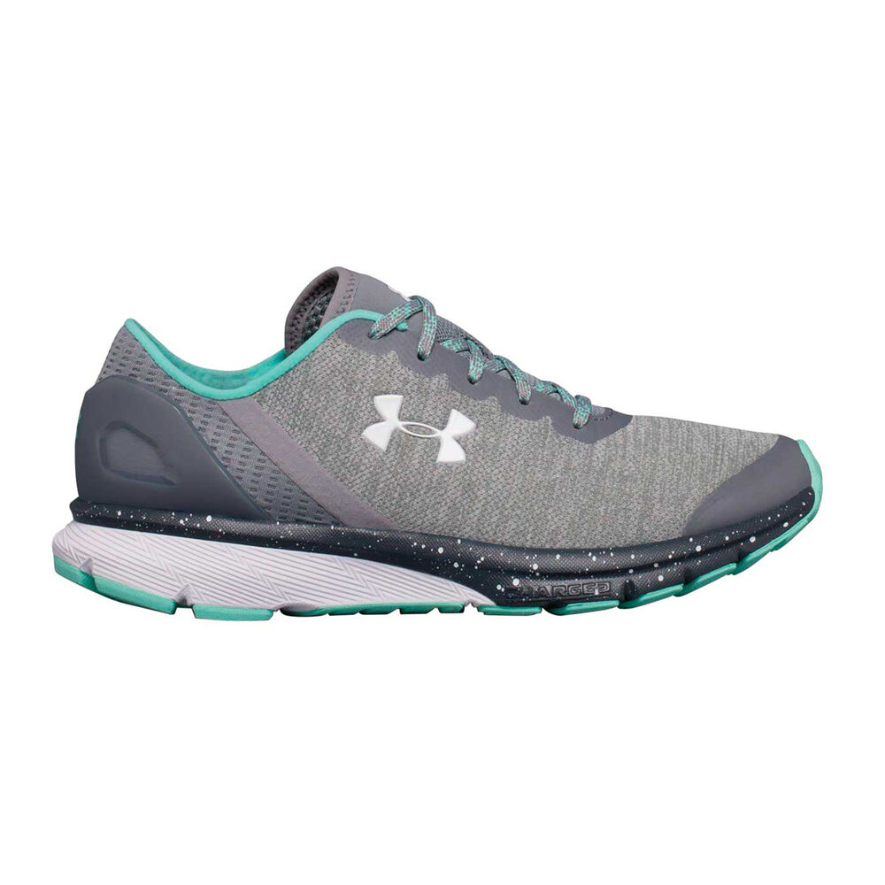 1f15c40b112c Under Armour Charged Escape Womens Running Shoes Grey   White US 8.5 ...