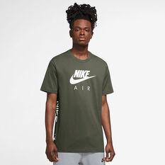 Nike Mens Air HBR Tee Green XS, Green, rebel_hi-res