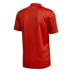 Spain 2020 Mens Home Jersey Red S, Red, rebel_hi-res