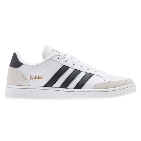 adidas Grand Court SE Mens Casual Shoes, White/Black, rebel_hi-res