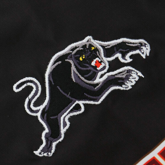 Penrith Panthers 2021 Mens Alternate Jersey, Black, rebel_hi-res