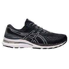 Asics GEL Kayano 28 Mens Running Shoes Black/White US 7, Black/White, rebel_hi-res