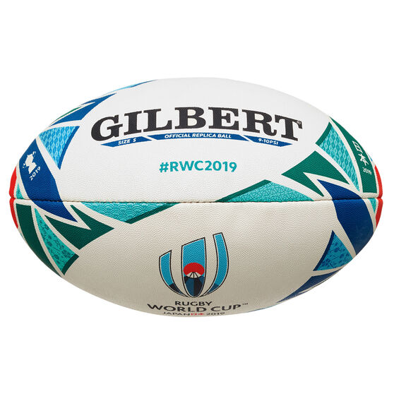 Gilbert Rugby World Cup Replica Rugby Ball, , rebel_hi-res