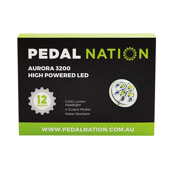 Pedal Nation Aurora 3200 Lumen LED Bike Light Black, , rebel_hi-res