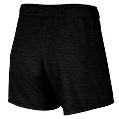 Nike Womens Dri-FIT Attack Training Shorts, Black, rebel_hi-res