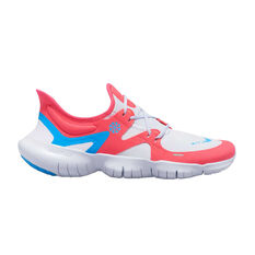Nike Free RN 5.0 Mens Running Shoes Red / Blue US 7, Red / Blue, rebel_hi-res