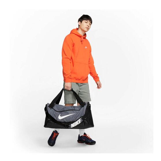 Nike Brasilia Training Duffel Bag Grey / Black, , rebel_hi-res
