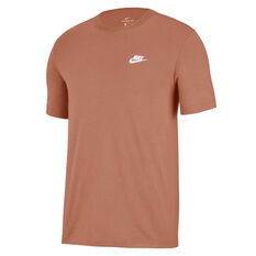 Nike Mens Sportswear Club Tee Beige XS, Beige, rebel_hi-res