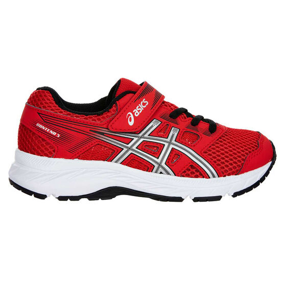 d25c8a56f4 Asics Gel Contend 5 Kids Running Shoes Red / White US 11
