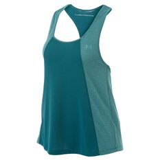 Under Armour Womens UA Siro Tank Teal XS Adult, Teal, rebel_hi-res