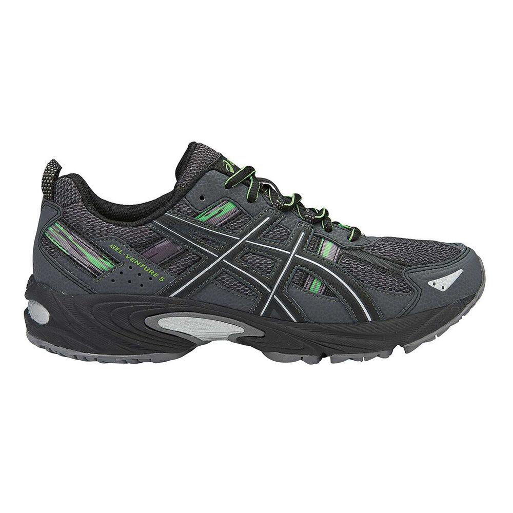 97675c61190 Men's Gel Venture 5 Running Shoes Charcoal / Green, Charcoal / Green,  rebel_hi-