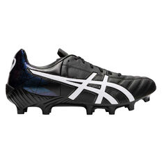 Asics Lethal Tigreor IT Football Boots Black / White US Mens 6 / Womens 7.5, Black / White, rebel_hi-res