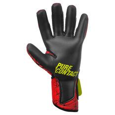 Reusch Pure Contact II R3 Goalkeeper Gloves Black / Red 8, Black / Red, rebel_hi-res