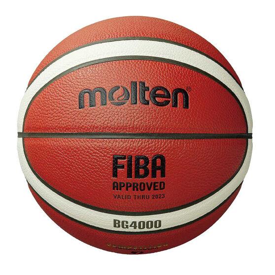 Molten BG4000 Basketball, Orange / White, rebel_hi-res